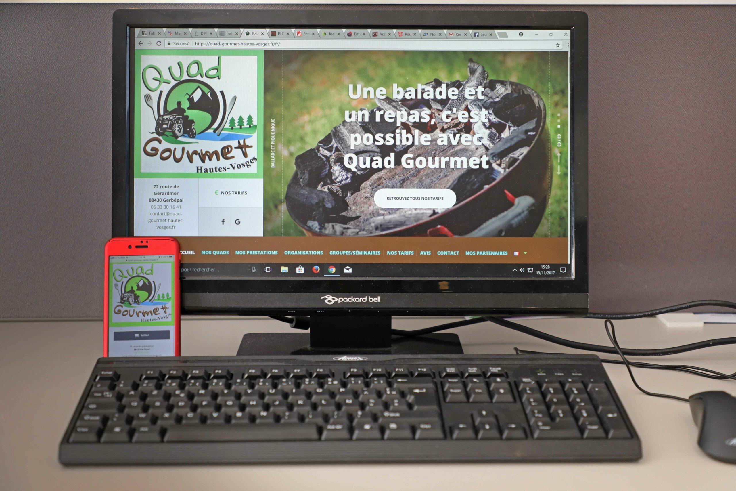 Création de site internet dans les Vosges