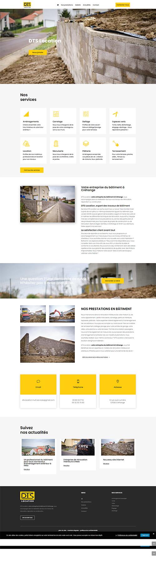 Portfolio: Site de GP2C